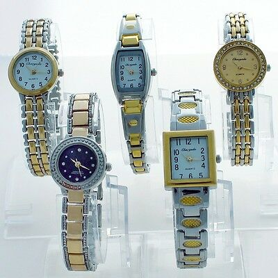 5PCS Mixed Bulk Ladies Women's Watches Bracelet WristWatch Wholesale Price JBT1F