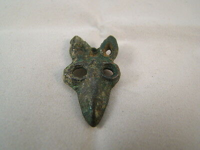Chinese Warring state period (475-221BC) bronze small ornament (fork face) p2101