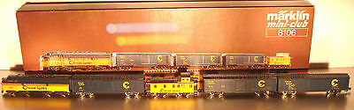 Marklin  Z:  8106 US Train Set  *Chessie System*