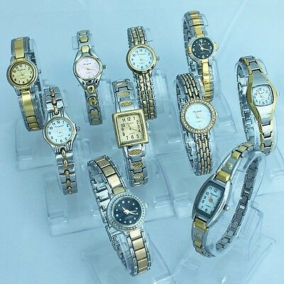 Lot of 10PCS Mixed Bulk Ladies Women's Bracelet Watches WristWatch JBT1