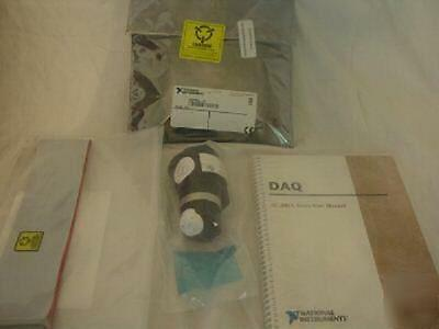 H1 National Instruments Daq Sc-205X With Cable And Manual 182705A-01 H1 +67421