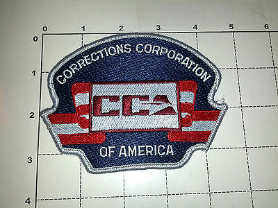 USA CCA Corrections Corporation of America Jail Prison Guard Officer Patch