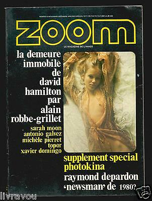 ▬►Zoom  N° 5 (1970) Érotisme David Hamilton 32 Pages Sarah Moon_Raymond Depardon