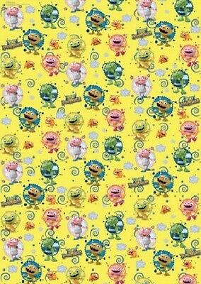 Wholesale Job Lot 36 Rolls of Henry Hugglemonster Gift Wrap Wrapping Paper