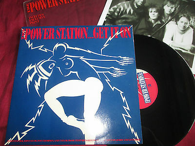 "The Power Station ‎Get It On Parlophone ‎12R6096 Ltd POLY BAG 12"" Single Vinyl"