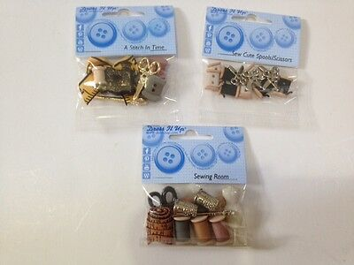 Dress It Up Button Packs - Sewing Room, Sew Cute & A Stitch in Time - Brand New!