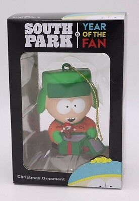 South Park KYLE Mr Hankey Santa Christmas Tree Ornament Kurt Adler Year of Fan