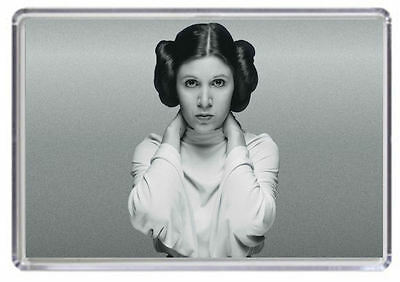 Carrie Fisher Princess Leia Fridge Magnet 02