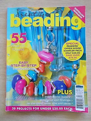 Creative Beading Vol 8 #2~55 Projects~Jewellery~Bookmark~Necklaces~Cuff~Bracelet
