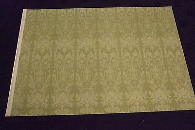 1.12 Scale Wallpaper - Bloomsbury Green Design - Dolls House