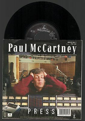 PAUL McCARTNEY Press / It's Not True 1986 France Single 45 beatles