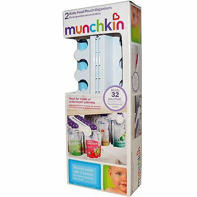 Munchkin Baby Food Pouch Organizers - Set Of 2