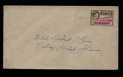 Solomon Islands  #71 on cover local use 1944             KEL09131