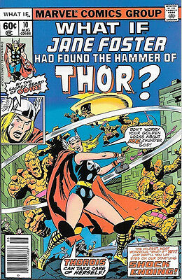What If? Comic Book #10 Jane Foster as Thor, Marvel Comics 1978 NEAR MINT UNREAD