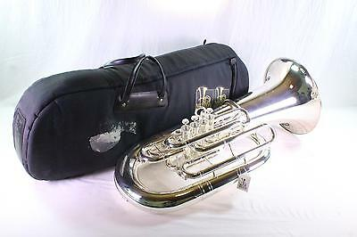 Meinl Weston 2182 Warren Deck Model F Tuba in SILVER PLATE DISPLAY MODEL QuinnTh