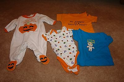 Lot of Halloween Clothes 0-3 months