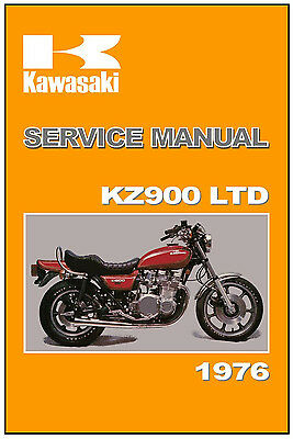 KAWASAKI Workshop Manual KZ900 900 LTD KZ900LTD 1976 Service and Repair