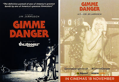 3 X Gimme Danger Iggy Pop And The Stooges Film Movie Postcards Jim Jarmusch
