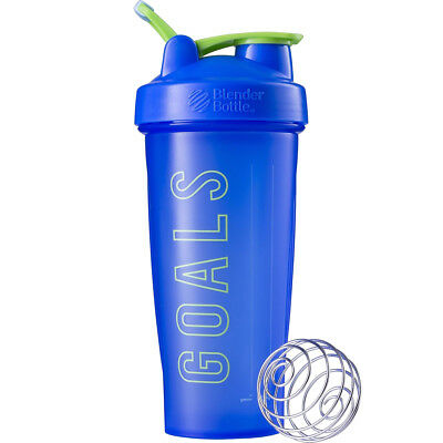 Blender Bottle Special Edition 28 oz. Shaker with Loop Top - Goals