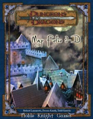 WOTC D&D 3rd Ed Map Folio 3-D SC NM