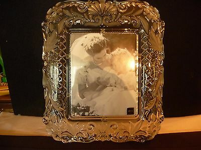 """Mikasa """"timeless Love"""" Large Picture Glass Picture Frame"""
