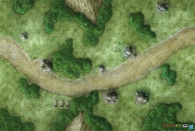 """Gale Force Nine - Dungeons and Dragons: """"The King's Road"""" Vinyl Game Mat  72752"""