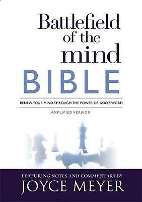 Battlefield of the Mind Bible: Renew Your Mind Through the Power of God's Word b