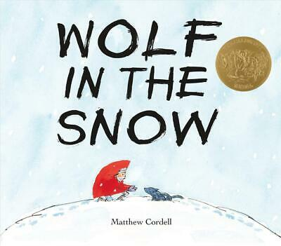 Wolf in the Snow by Matthew Cordell (English) Hardcover Book Free Shipping!