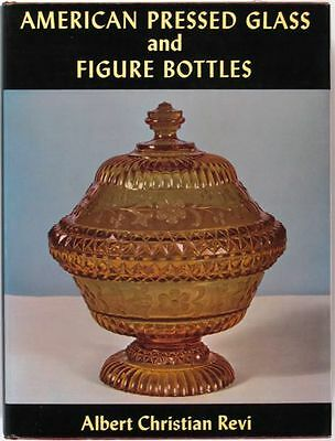 Book: American Pressed / Pattern Glass & Figural Bottles & Company History