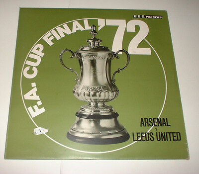 1972 THE FA CUP FINAL LEEDS UNITED v ARSENAL  BBC RECORDS REC 122M