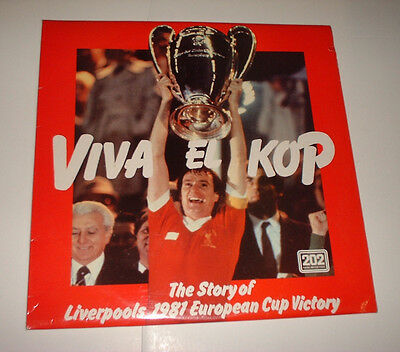 1981 THE EUROPEAN CUP FINAL LIVERPOOL v REAL MADRID + road to final QP 37/81 BBC