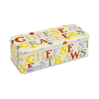 Emma Bridgewater Polka Dot Long Deep Rectangular Biscuit Tin
