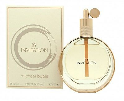 Michael Buble By Invitation Eau De Parfum 50Ml Spray - Women's For Her. New