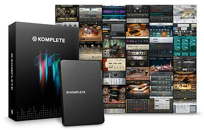 Native Instruments Komplete 11 Update from Komplete 2-10 (NEW)