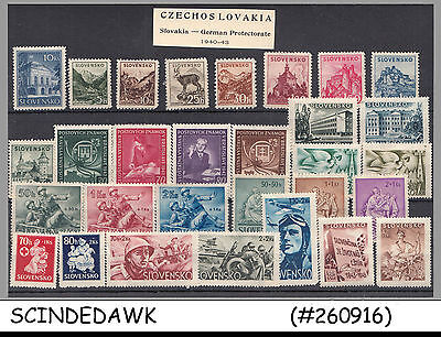 Slovakia German Protectorate - Mini Lot Of Stamps - 30V - Mint