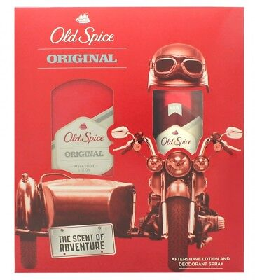 Old Spice Old Spice Gift Set 100Ml Aftershave + 150Ml Body Spray - Men's. New