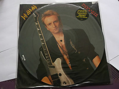"""Def Leppard Make Love Like a Man  12"""" picture disc"""