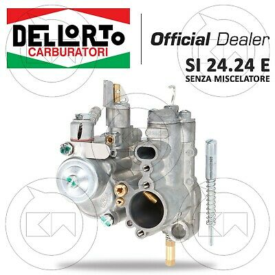 CARBURATORE DELL'ORTO 24.24 SENZA MIX VESPA PX 125-150 PER MODIFICATA 177cc