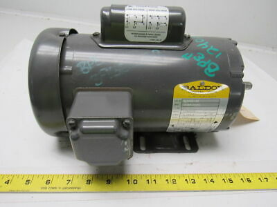 Baldor L3409-50 1/2HP 1425RPM 110/220V 1PH Electric Motor