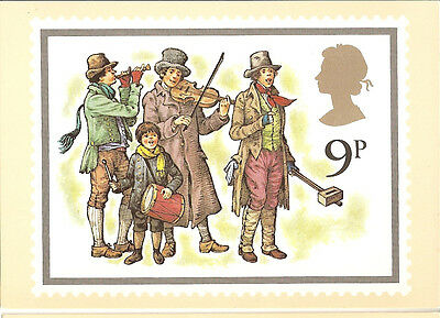 GREAT BRITAIN -  CHRISTMAS - POST CARD PHQ32(b)) - 1978
