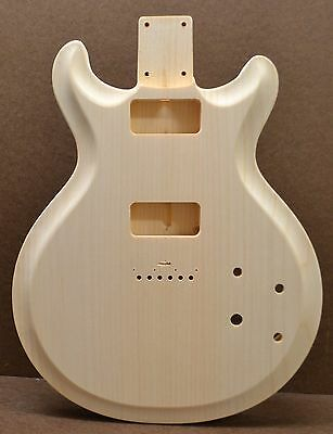 Custom Order Dct-Rg Unfinished White Pine Guitar Body Fits Stratocaster Neck