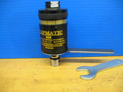 Tapmatic  30X Reversible Tapping Attachment ***superb***