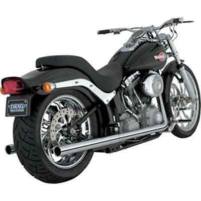 Vance & Hines Softail Duals Exhaust System - Chrome 16893 HARLEY-DAVIDSON®