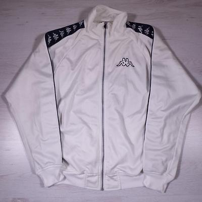 Mens KAPPA Vintage 1990s Retro Polyester Tracksuit Top Jacket Small #B2383