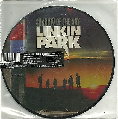"""Linkin Park - Shadow of the Day (2007) UK 7"""" PICTURE DISC"""