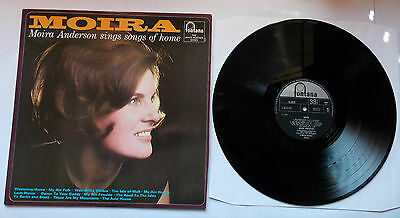 MOIRA Anderson LP Sings Songs Of Home 1966 TL5372 Fontana Records VG