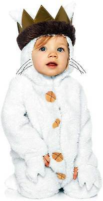 New Toddler's Where the Wild Things Are Max Costume Halloween Outfit 6/12