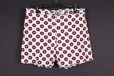Vtg 60S Catalina Cotton Swim Trunks Shorts Usa Mens 36