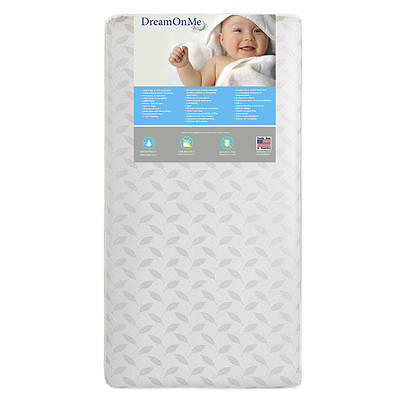 Dream On Me Premium Coil Inner Spring Standard Crib and Toddler Mattress