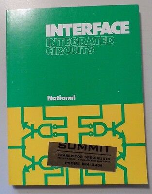 1974 National Semiconductor Interface Integrated Circuits Book